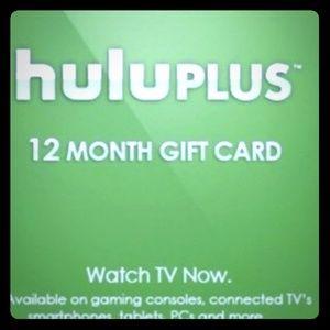 Other - 1 year of huluplus